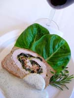 Hummersoppa med hummersallad pa toast